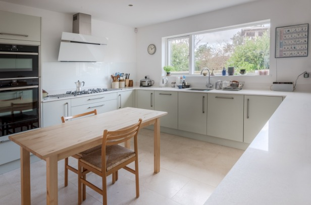 Passivhaus Devon Exeter interior design architecture kitchen