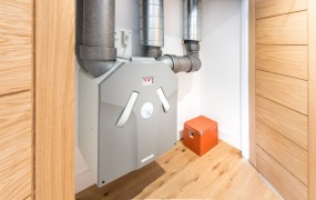Passivhaus Devon Exeter architecture MVHR mechanical ventilation