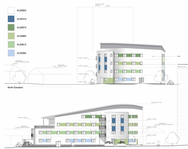 Passivhaus Social Housing Flats Exeter Elevations