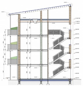 Passivhaus Social Housing Flats Construction Section