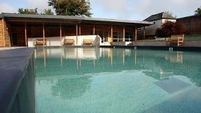 The pool at Trelowarren