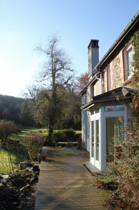 Restoration and refurbishment of a large house on the moors to EnerPHit standard